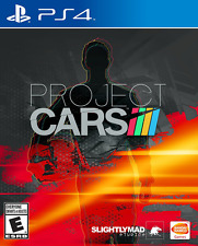 Project Cars PS4 PlayStation 4 Video Games Bandai Namco Racing Motorsports