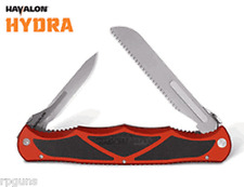 RED Havalon Hydra Double Bladed Hunting Knife Blades Skin, Fish Fillet, Bone Saw