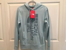 NWT The North Face Womens Trivert Pullover Hoodie Medium NEW Blue Sweatshirt
