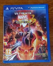 Jeu Ultimate Marvel VS Capcom 3 Sur Console Sony PS Vita