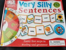 D K Games Very Silly Sentences Great Lear 00004000 ning tool for Children 4-7 New in Box