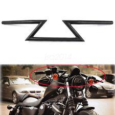 "Motorrad Z Bars 7/8 "" 22cm Lenker Stahl für Honda Suzuki Kawasaki Yamaha Racer"