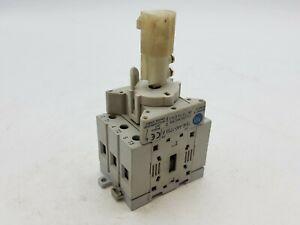Allen Bradley 194E-A40-1753 B Load Switch Assembly 40A 600V 3P Din Rail Mount
