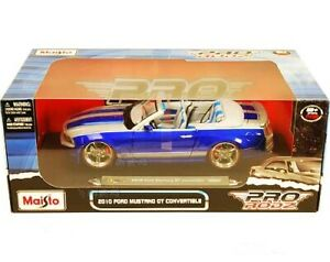 RARE MAISTO PRO RODZ 2010 FORD MUSTANG GT CONVERTIBLE 1/18 DIECAST 31337