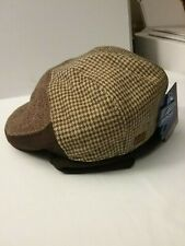 Dockers News Boy Hat With ear Warmers Brown Size S /M
