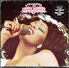 33t Donna Summer - Live and More (2 LP)