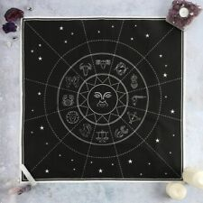 Astrological Star Sign Cotton Altar Cloth Witch Wicca Pagan Ceremonial