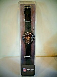 NEW OLD STOCK SPARO NFL SPORTS WATCH NEW ORLEANS SAINTS