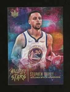 2018-19 Panini Court Kings Gallery Of Stars Stephen Curry Golden State Warriors