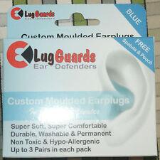 Lug Guards Molde tus propios Tapones para los oídos Espátula 3 pair Azul