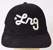 LRG Lifted Research Group Skateboard Black Baseball Hat Cap Fitted 7 1/4
