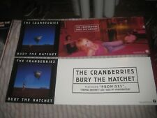THE CRANBERRIES-BURY THE HATCHET-1 POSTER FLAT-2 SIDED-12X36 INCHES-NMINT-RARE!!