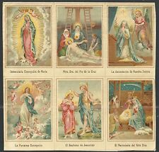 Holy card antique lamina de Santos image pieuse santino estampa