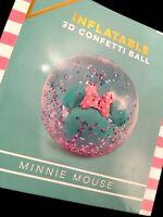 Disney 3D Minnie Mouse Konfetti Ball Aufblasbar Pool Beach Wasser Maus Mickey