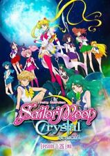 DVD Sailor Moon Crystal Pretty Guardian Season 1+2 Vol.1-26 End English Dubbed