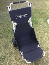 New Black Beachmate trolley carry all cart then use as a seat FREE DELIVERY