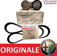 KIT CINGHIA SERVIZI ALTERNATORE ORIGINALE ALFA ROMEO 159 BRERA SPIDER 2.4 JTDM