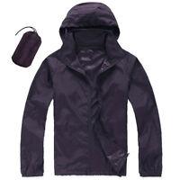 New Men Women Windproof Waterproof Jacket Bike Bicycle Outdoor Sports Rain Coat