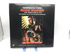 """Blade Runner"" Director's Cut Widescreen Laserdisc Ld - Harrison Ford"
