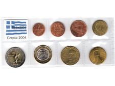 Euro GRECIA 2004 - 8 PZ FDC in Blister -