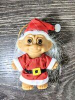 "Vintage Russ Santa Troll 3"" #18276 Collectible"