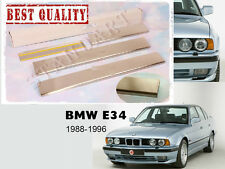 BMW E34 5-serie 1988-1996 4pcs Stainless Steel Door Sill Guard Scuff Protectors