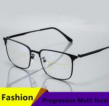 Anti-fatigue Smart Zoom Progressive Multi-focus Distance/Near Reading glasses