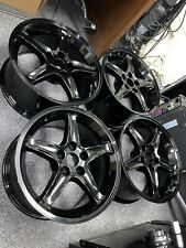 Cobra R Style Wheels 17x9 Gloss Black Priced individually -Sold as Set of 4