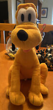 Disney Pluto Plush Toy Kohls Cares Stuffed Animal Dog Mickey Mouse Clubhouse 14""