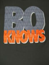 VINTAGE NIKE - BO KNOWS - BO JACKSON - XL GRAY T-SHIRT - S1957