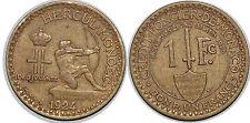 1 FRANC  Monaco  1924