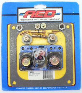 """AED 4500 Dominator Carburetor Rebuild Kit 750 1050 1150 CFM Gasoline Carb .110"""""""