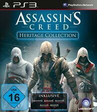 PS3 - Playstation 3 Assassins Creed Heritage Collection (Sony) Spiel in OVP