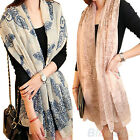 Womens long Wraps Scarf Soft Autumn Winter Scarves Stole Nice Clothing DecorB84U