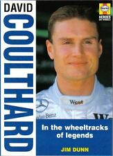 David Coulthard a paperback Motor Racing Biography by Dunn in 1997 Karting to F1