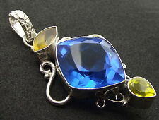 Unique Andara Crystal Set Pendant 925 Silver COA Design 10