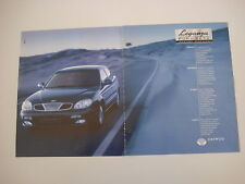 advertising Pubblicità 1998 DAEWOO LEGANZA