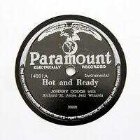 "RICHARD M. JONES & HIS JAZZ WIZARDS ""Hot And Ready"" PARAMOUNT 14001 [78 RPM]"
