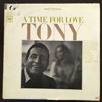 Tony Bennett - A Time For Love - Vinyl LP Record 1966 Pop Vocal