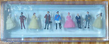 Preiser N #79129 Old-Time Figures - King Ludwig the II of Bavaria w/Royal Party