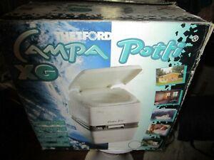 campa potti THETFORD XG  toilette seche wc camping bateau NEUF