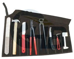 9 piece farrier tool kit