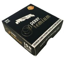 100 Derby Premium Single Edge Razor Blades - Fast Shipping