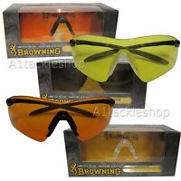 Browning Improved Claybuster Clay Pigeon and Field Shotgun Shooting Glasses
