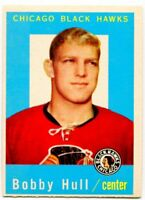 1959/60 Topps Bobby Hull Card #47 Chicago Black Hawks