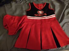 Cheerleader Dress San francisco 49ers Girls Size 4T great condition mint vintage