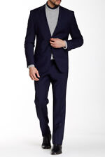 HUGO BOSS The Fordham Central Wool Suit NWT! $795 | SZ 42S | C011
