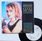 "Vinyle 45T Madonna ""Crazy for you"""