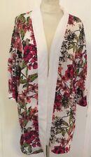 Superbe Kimono/surchemise/veste VERO MODA fleurs tropicales et voile T. S/M NEUF