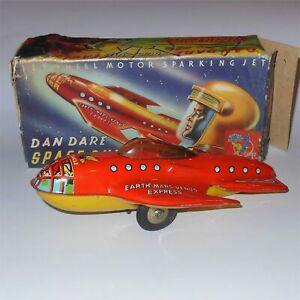 Mettoy 8230 Dan Dare Space Ship Eagle 1950's